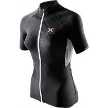 X-Bionic the trick biking maillot de cyclisme manches courtes femme noir