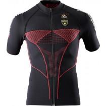 X-BIONIC Lamborghini Biking Shirt SS Black Red