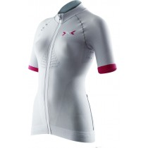 X-BIONIC Race Evo Biking Lady Shirt SS Grey Raspberry