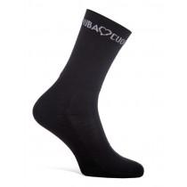 RUBA CUORE Corsa Sock Black