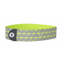 Wowow ryu reflecterende band fluo geel