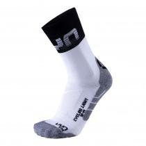 UYN cycling light chaussettes de cyclisme blanc noir