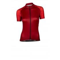 Vermarc seiso sp.l aero maillot de cyclisme manches courtes femme bordeaux rouge