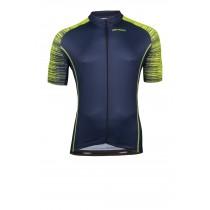 Vermarc seiso sp.l aero maillot de cyclisme manches courtes navy bleu fluo jaune