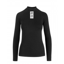 Assos skinfoil winter sous-vêtement à manches longues blackseries noir
