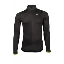 Vermarc solid maillot de cyclisme à manches longues noir