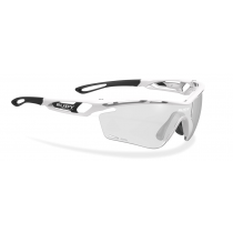 Rudy Project Tralyx bril white gloss - impactX photochromic 2 black lens