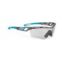 Rudy Project tralyx fietsbril mat grijs pyombo - impactx photochromic 2 lens