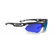 Rudy Project Fotonyk bril crystal graphite - multi laser blue lens