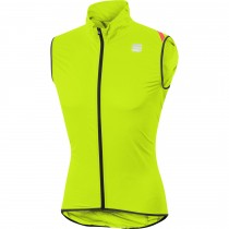 Sportful hot pack 6 gilet coupe-vent fluo jaune