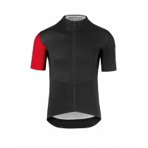 Assos cento evo 8 fietsshirt met korte mouwen national rood