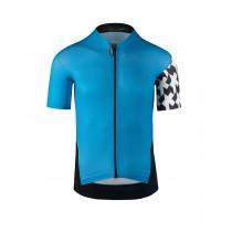 Assos campionissimo equipe evo 8 maillot de cyclisme manches courtes calypso bleu