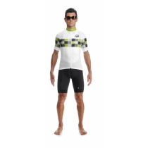 Assos grandprix evo 8 maillot de cyclisme manches courtes piton vert