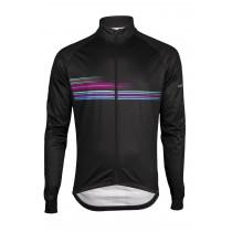 Vermarc sting maillot de cyclisme à manches longues noir