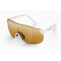 Alba optics stratos fietsbril wit - vzum fly lens