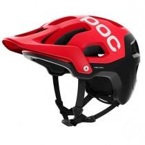 Poc tectal casque de cyclisme prismane rouge