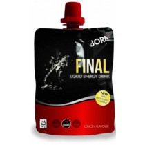 BORN Final Lemon Liquid Energy Drink (6 Pack)
