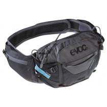 Evoc Hip Pack Pro 3L +1.5L bladder Black/ Carbon Grey