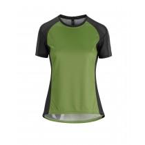Assos trail maillot de cyclisme à manches courtes femme pan vert
