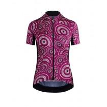 Assos campionissimo uma GT camou maillot de cyclisme manches courtes femme midnight violet