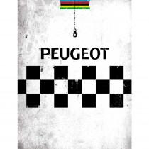 The Vandal Peugeot Postkaart
