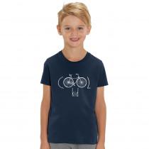 The Vandal Cool Kid T-Shirt Navy