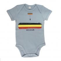 The Vandal Little Belgian Romper Blauw