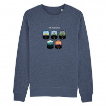 The Vandal The Classics sweater Blauw