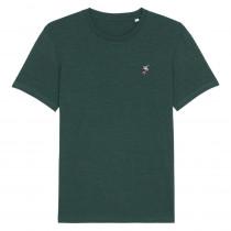 The Vandal Derailleur T-Shirt Glazed Green