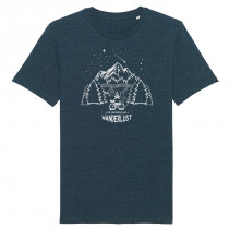 The Vandal Wanderlust T-shirt Denim Blue