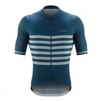 De Marchi veloce maillot de cyclisme manches courtes navy bleu
