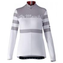 De Marchi Corsa Lady Jersey LS White