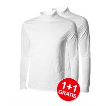 Shirt Windbreaker Essentials LM White 1+1 Gratis