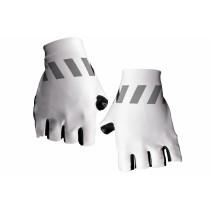 Vermarc winn gant de cyclisme blanc noir