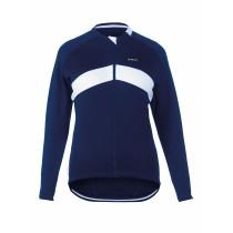 De Marchi Winter Jersey LS Blue