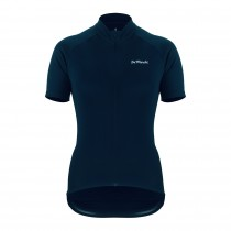 De Marchi classica maillot de cyclisme manches courtes femme navy bleu