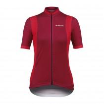 De Marchi granturismo maillot de cyclisme manches courtes femme violet