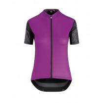 Assos xc maillot de cyclisme à manches courtes femme cactus violet