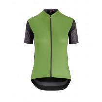 Assos xc maillot de cyclisme à manches courtes femme pan vert