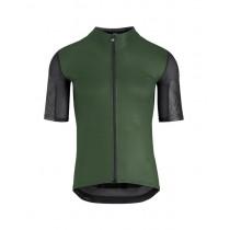 Assos xc maillot de cyclisme à manches courtes mugo vert
