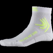 X-Socks bike pro chaussettes de cyclisme femme arctic blanc phyton jaune