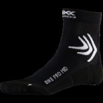 X-Socks bike pro mid chaussettes de cyclisme opal noir