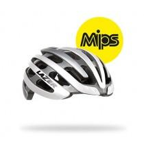 Lazer Z1 mips casque de vélo blanc argent