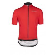 Vermarc zero aqua maillot de cyclisme manches courtes rouge