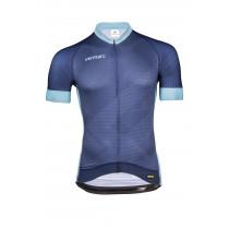 Vermarc Zigzag Shirt Korte Mouwen Pr.R Marine/ Blue