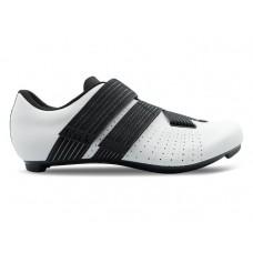 Fizik tempo r5 powerstrap chaussures route blanc noir