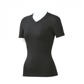 SPORTFUL Natural Cotton Lady Shirt KM V-Neck Black