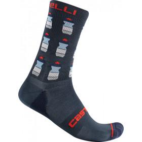 Castelli Pazzo 18 Sock - Savile Blue