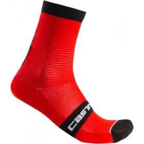 Castelli Superleggera 12 Sock - Red