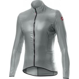 Castelli Aria Shell Jacket - Silver Gray